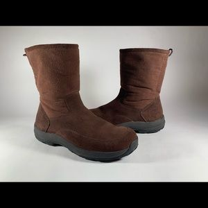 NEW L.L. Bean Suede Fleece Primaloft Boots